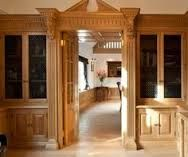 Image result for traditional oak library