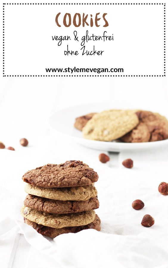 Vegane Cookies – glutenfrei & ohne Zucker
