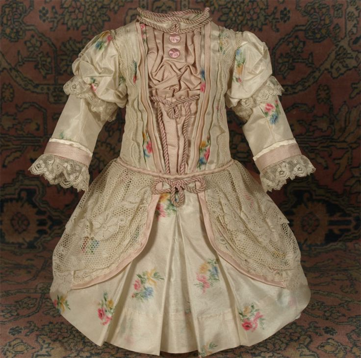 Wonderful French Country Clothing Part - 7: MARVELOUS Antique French Silk Bebe Couturier Costume For JUMEAU, BRU From  Mybebes On Ruby Lane