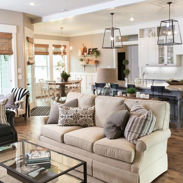 living room - ballard designs