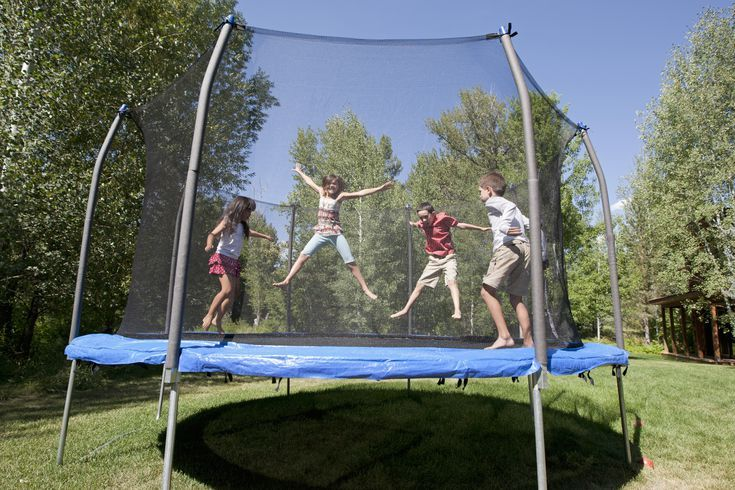 Safe and Fun Backyard Trampoline Games (With images