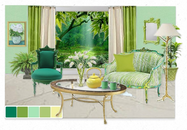 """colors of spring"" - irish clover 2038-20: Colors Trends, Ben Moore, Clovers 2038 20, Irish Clovers, Colors Palettes, Benjamin Moore, Shades Of Green, Moore Photo, Colors Inspiration"