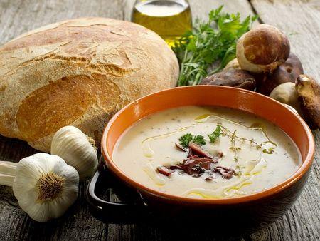 Суп с грибами - Рецепты грибного супа - Как правильно готовить суп с