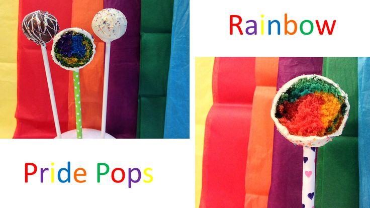 Rainbow Pride Pops