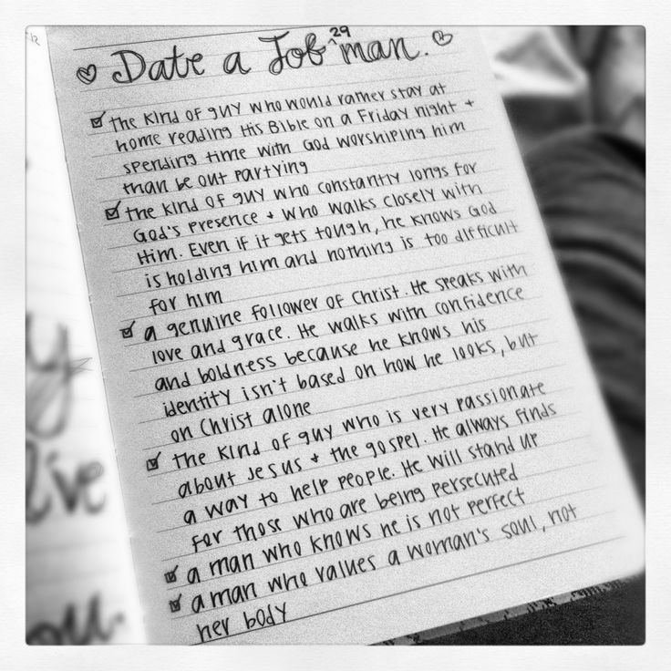 dating advice straight from the Bible