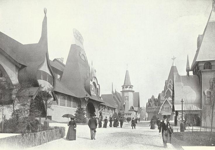 Русская деревня в Глазго EXH из 1901.