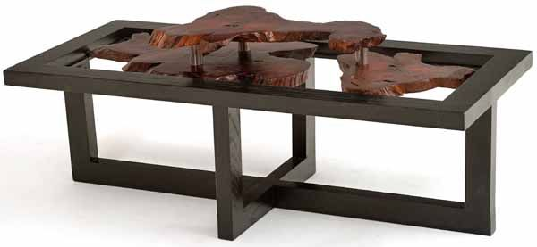 Coffee Table Floating Live Edge