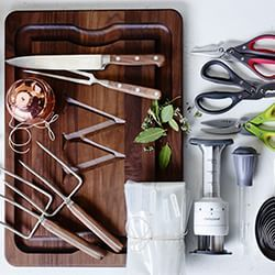 Remember to take the lifting forks, carving board, twine, kitchen shears  and knife set in November.  Thanksgiving | Williams-Sonoma