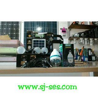 produk sahat jaya: Solar Kit 4 Lampu
