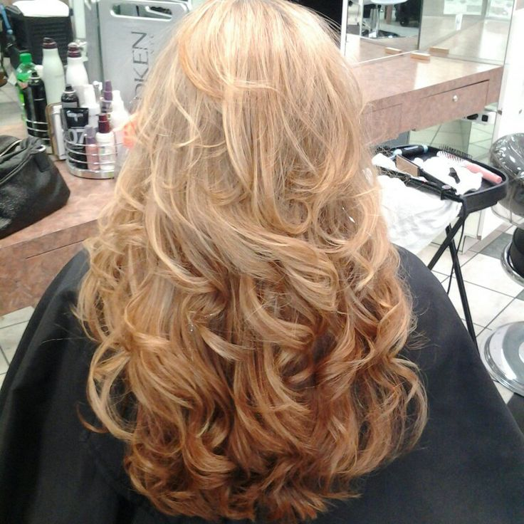 Beautiful Long Thick Blonde Wavy Hair My Creations