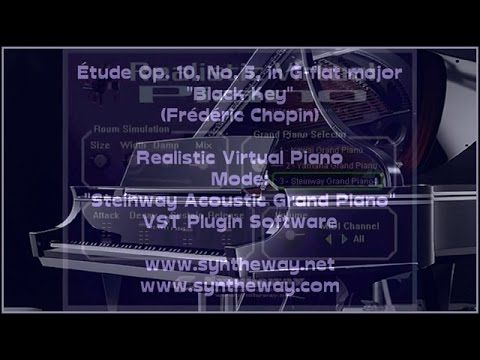 "Étude Op.10 No.5 in G-flat major ""Black Key"" (Frédéric Chopin) Syntheway Steinway Grand Piano VST #ClassicalMusic #EtudeOp10 #FrédéricChopin #Chopin #BlackKey #Kawai #Steinway #Yamaha #Syntheway #ClassicalMusicWithSoftwareSynthesizers #Kawai #Steinway #Yamaha #Syntheway #RealisticVirtualpiano #VirtualPiano #AcousticGrandPiano #AcousticPiano #GrandPiano #PianoVST #PianoVSTi #VirtualGrandPiano #VirtualAcousticPiano #ClassicalMusic #FLStudio #AbletonLive #Cubase #Sonar #StudioOne #Garagebang"