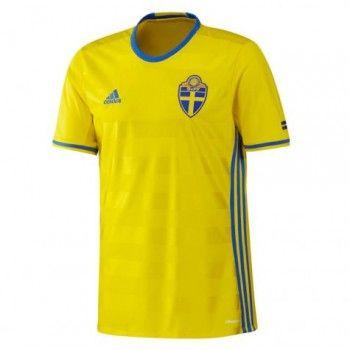 Sverige 2016 Hemmatröja Kortärmad   #Billiga  #fotbollströjor