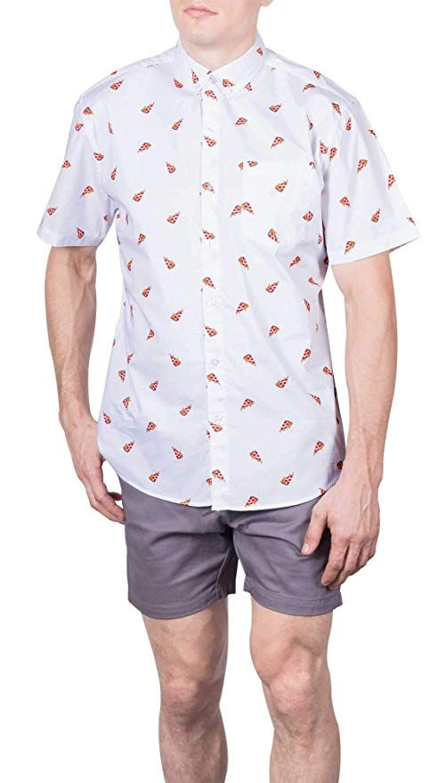 a2b88f4f4f86 Visive Original Printed Short Sleeve Button Down Shirt Size Small - 4XL Big  Mens at Amazon Men's Clothing store: