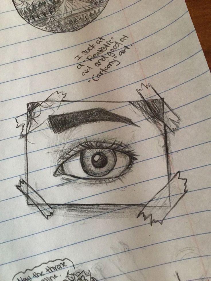 """Ich lutsche an der """"realistischen"""" Zeichnung, hey gut in der """"Cartoon"""" -Zeichnung"""