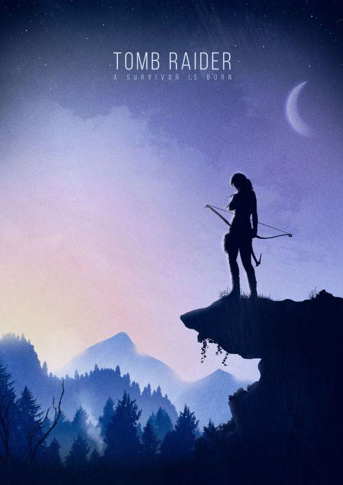 Tomb Raider Poster - Geeky Ninja