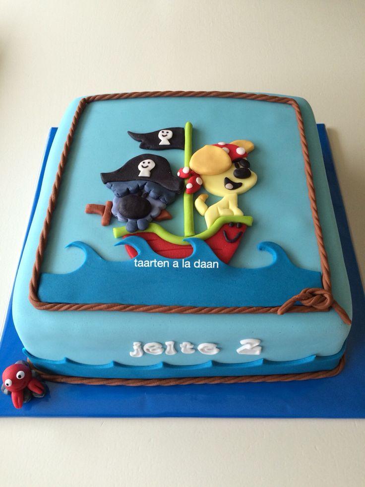 Woezel en pip taart Woezel en pip cake