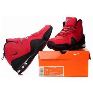 www.asneakers4u.com Nike Air Penny 5 Penny Hardaway Shoes Red/Black