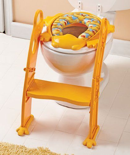 This is the potty seat Ariana has and it is AMAZING!! A 18 month old that loves going potty because she can do it herself is just awesome! I would recommend this to any family going through potty training.
