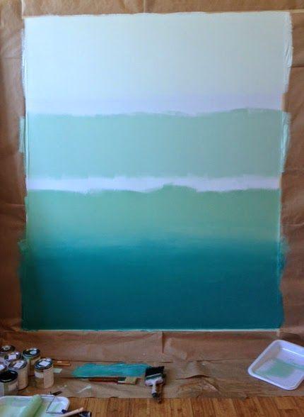 caractériELLE: Comment peindre son mur en tie and dye ?