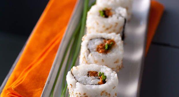 Makis au corail d'oursinVoir la recette des Makis au corail d'oursin >>