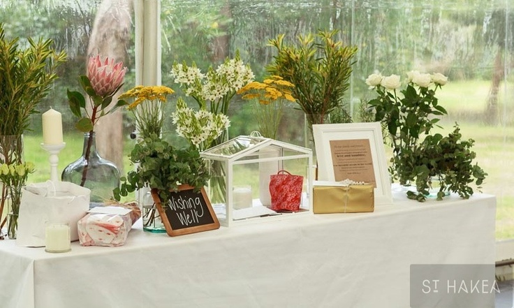 wishing well / present table   Styled by St. Hakea sthakea.com