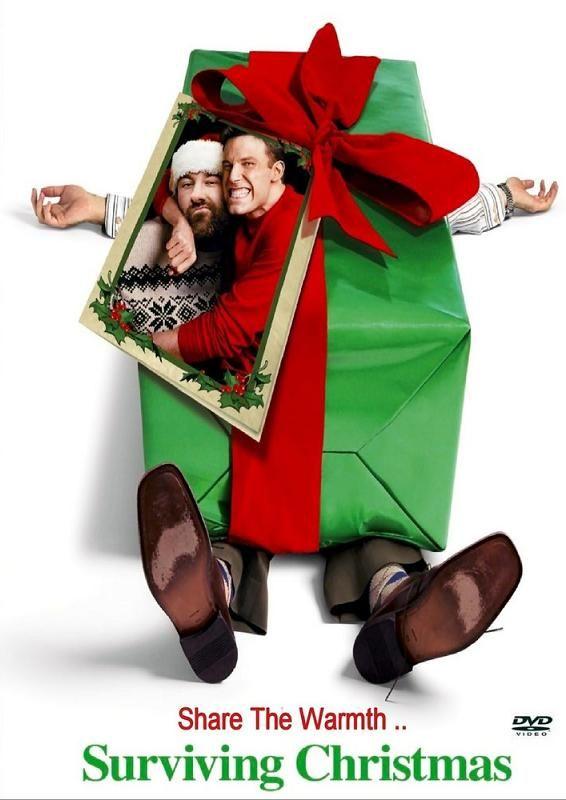 ผลการค้นหารูปภาพสำหรับ Surviving Christmas (2004) poster