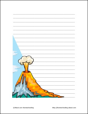Writing paper services volcano border