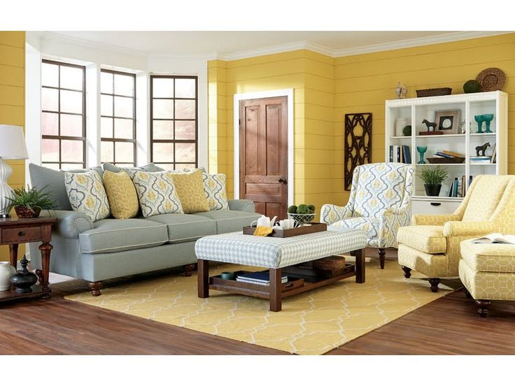 Paula Deen By Craftmaster Living Room Three Cushion Sofa P711750BD   Tyndall  Furniture Galleries, INC