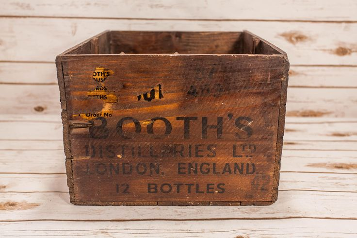A personal favorite from my Etsy shop https://www.etsy.com/listing/534361440/rare-booths-house-of-lords-dry-gin
