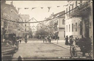 Old Athens Photos Ermou Street. Back to Old Athens Photos 1900