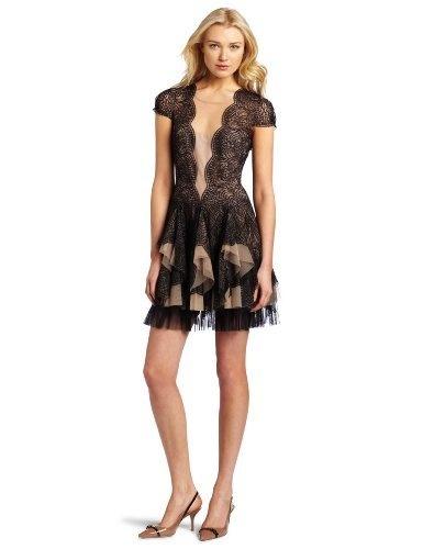 BCBGMAXAZRIA Women's Rochelle Scallop Lace Dress, Black, 10 BCBGMAXAZRIA, http://www.amazon.com/dp/B006GK1PX4/ref=cm_sw_r_pi_dp_qR2Opb1445TGJ