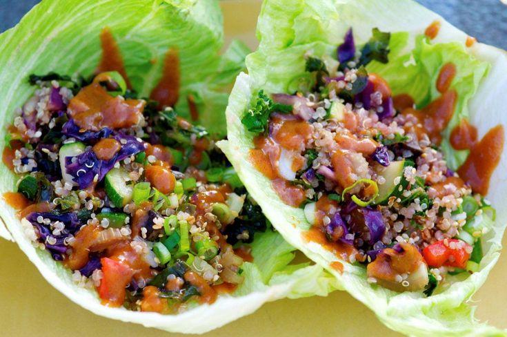 Healthy AMAZING Lettuce Wraps