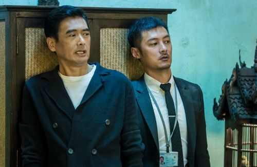"""Chow Yun Fat praises Shawn Yue for his performance in """"From Vegas to Macau 2""""."""