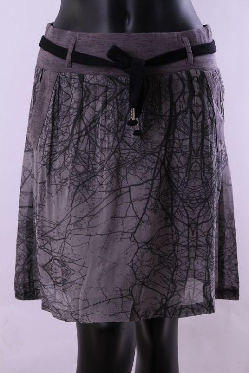 Cream Karen skirt Grey sky - Kjoler/nederdele - MaMilla