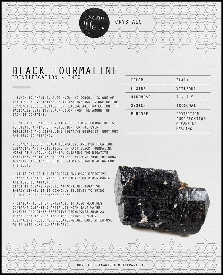 Prana Life | Black Tourmaline
