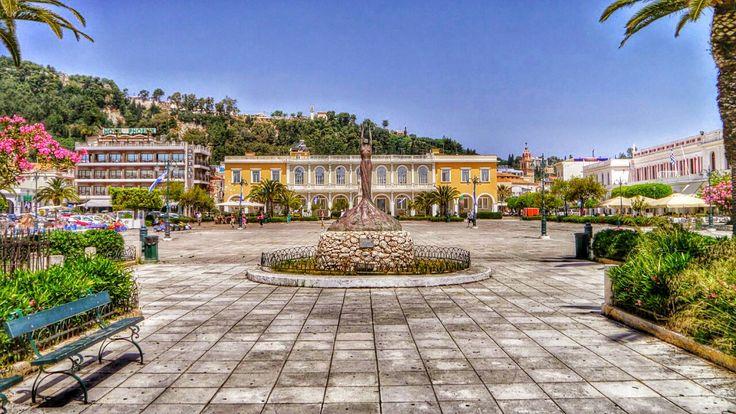 Solomos Square Zakynthos Greece