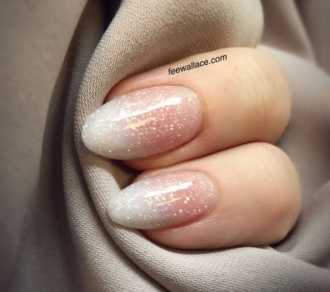 Image result for short nail french ombre