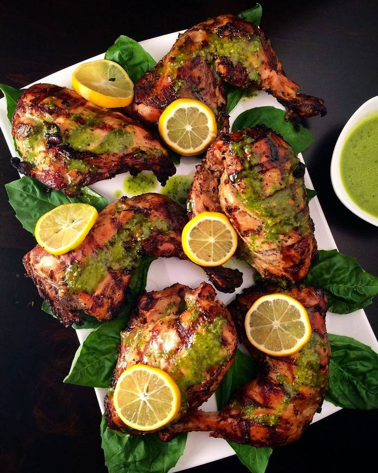 #HappyHumpday! Tonight we enjoyed grilled chicken with lemon basil dressing.Have a wonderful balance of the week and Happy #Thanksgiving to everyone in America. @zimmysnook