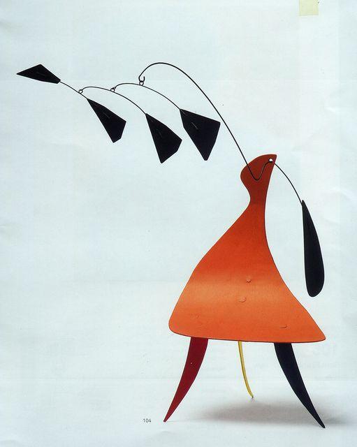 Calder, The Orange Table, 1942