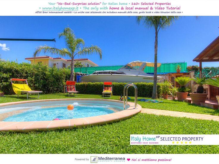 C110 - Villa Captains : Rome & Naples day visits Luxury Villa ON THE BEACH ... - 1363188