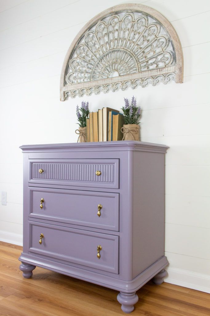 Lavender Painted Dresser Pink Painted Dresser Chalk Paint