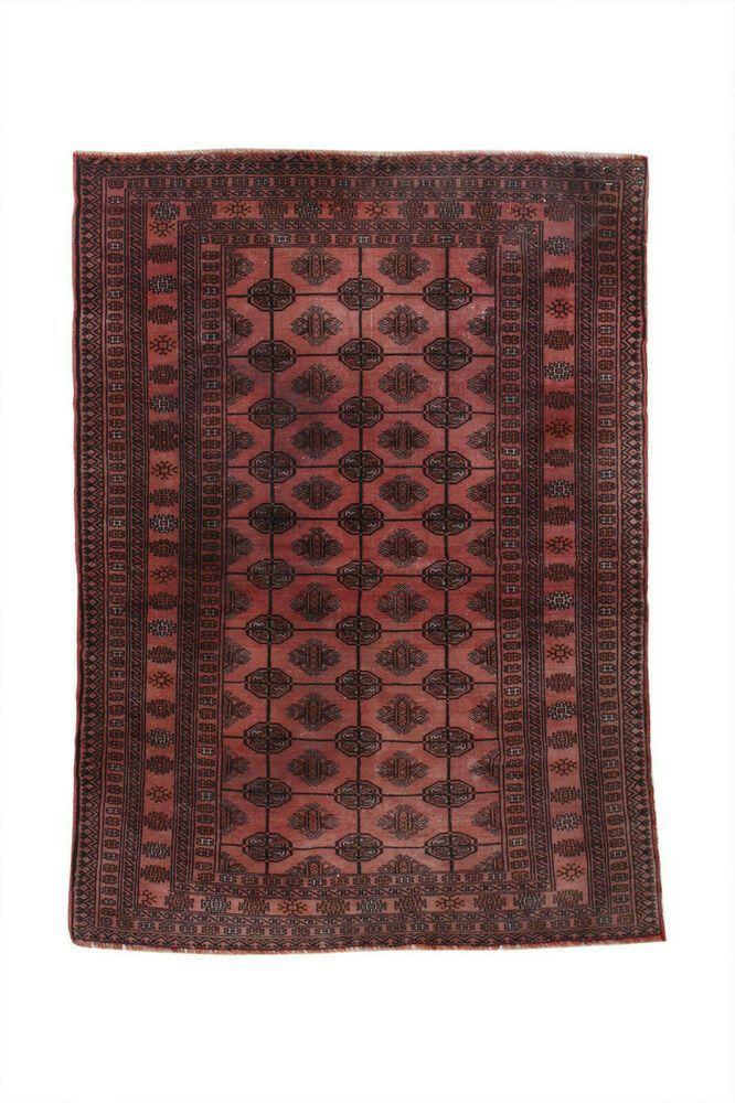 4x5 Vintage Oriental Wool Handmade Traditional Carpet Geometric Rustic Area Rug 4x5 Area Carpet Geometric Handmade Oriental Rug Rustic Rusticrug In 2020