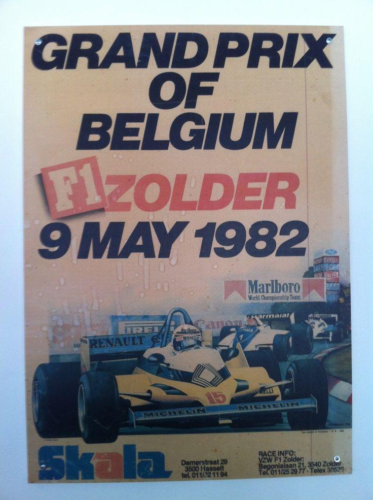Grand Prix of Belgium F1 (9 mei 1982)