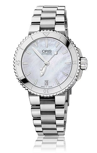 HOLIDAY GIFT GUIDE: DAY 9-  Deck the halls with a new Oris Aquis Date Ladies Diving watch! Exclusively at J. Keith's Jewelry!