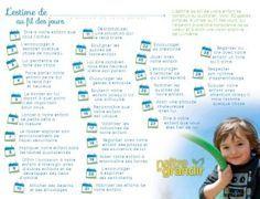 30 gestes quotidiens permettant de valoriser l'estime de soi d'un enfant.