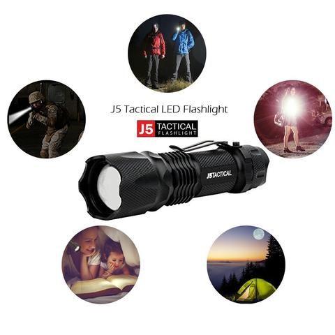 Tactical Pro Flashlight - Ultra Bright High Lumen LED Flashlight