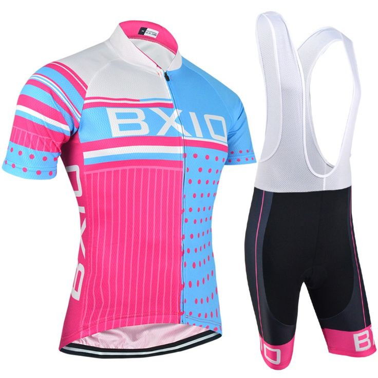 BXIO Women Cycling Set Pro Team Bike Wear Breathable Riding Chlothes Ropa Mujer Ciclismo Road Bike Clothing BX-0209RB-013
