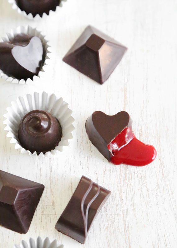 Take your love for red velvet to the next level with these DIY dark chocolate bonbons.
