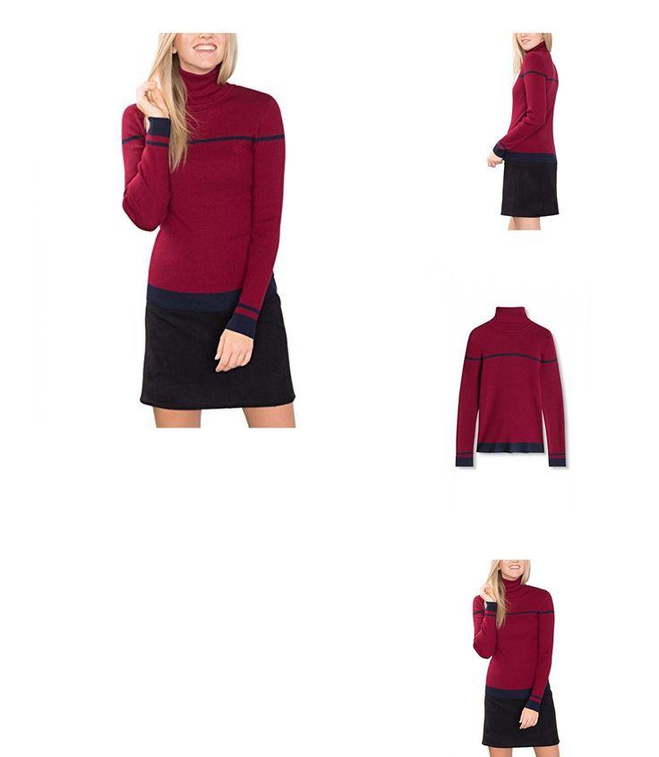 4057967098089 | #ESPRIT #Damen #Pullover #096EE1I038s, #Mehrfarbig #(Dark #Red 2 #611), #34 #(Herstellergröße: #XS)