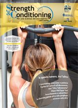 Strength & Conditioning. Per una scienza del movimento dell'uomo. N°6 http://strengthandconditioning.calzetti-mariucci.it/